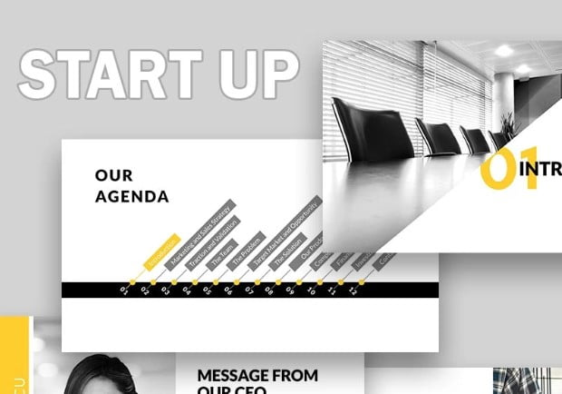 Start-Up - 41+ Best Selling PowerPoint Templates Presentations Your Business [year]