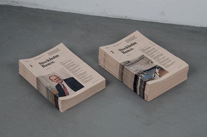 Stockholm-Banco - 63+ Surprising Typography In Magazine & Book Designs [year]