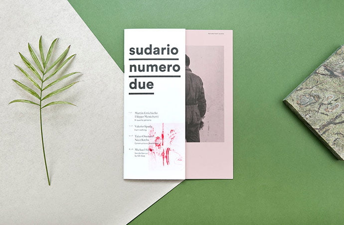 Sudario - 63+ Surprising Typography In Magazine & Book Designs [year]