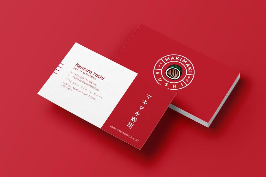 Sushi-Business-Card