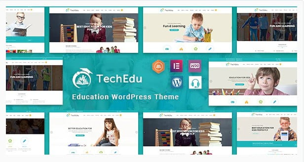 TechEdu - 36+ Amazing Tumblr Style WordPress Themes For Developer [year]