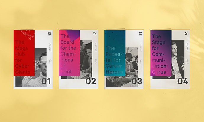 Tecom-Parks - 63+ Surprising Typography In Magazine & Book Designs [year]