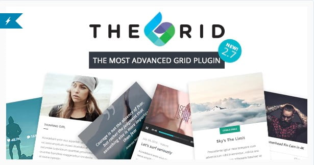 The-Grid - 28+ Awesome Gallery Plugins For WordPress [year]