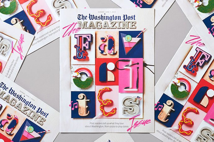 The-Washington-Post - 63+ Surprising Typography In Magazine & Book Designs [year]