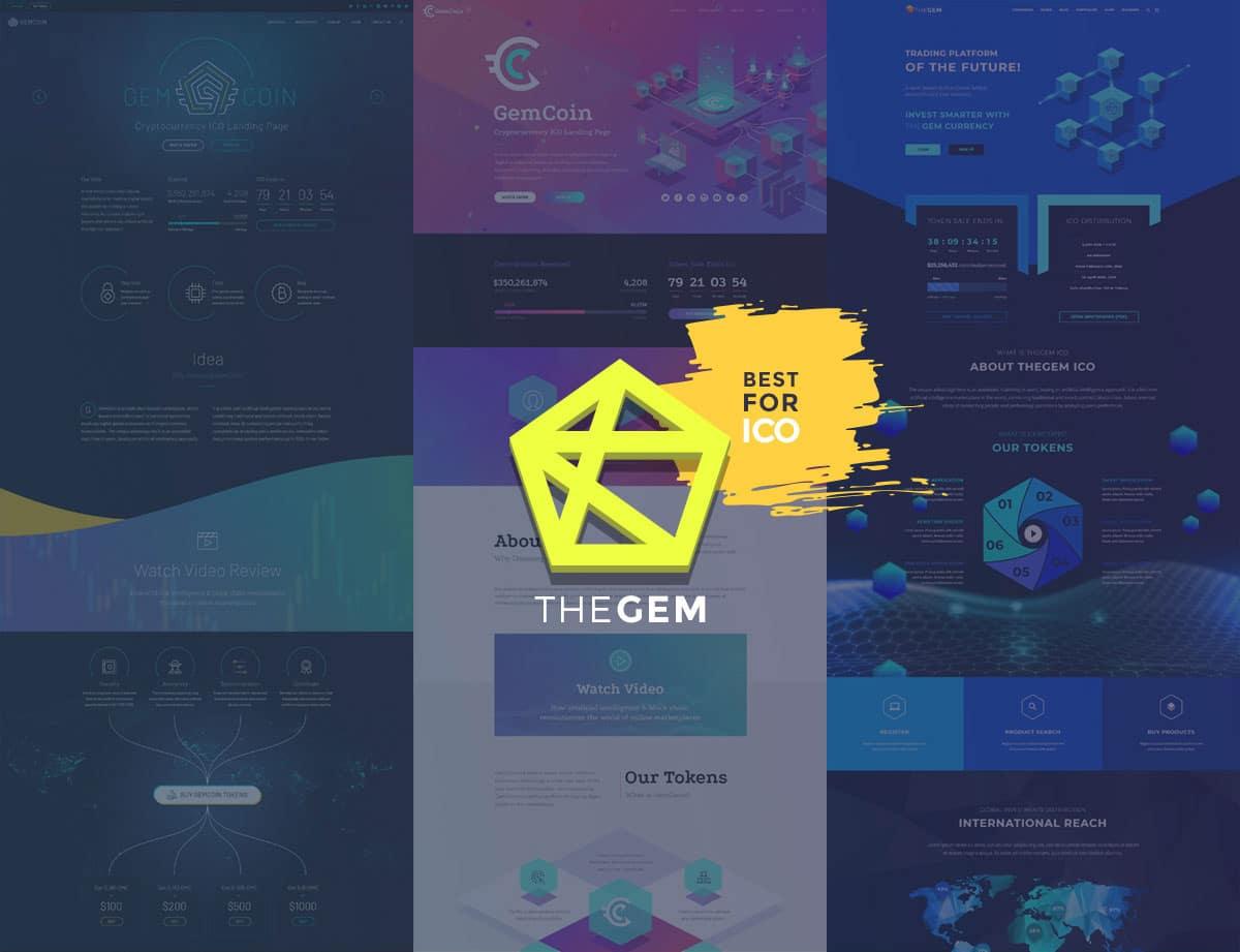 TheGem-1 - 28+ Stunning Cryptocurrency WordPress Themes [year]