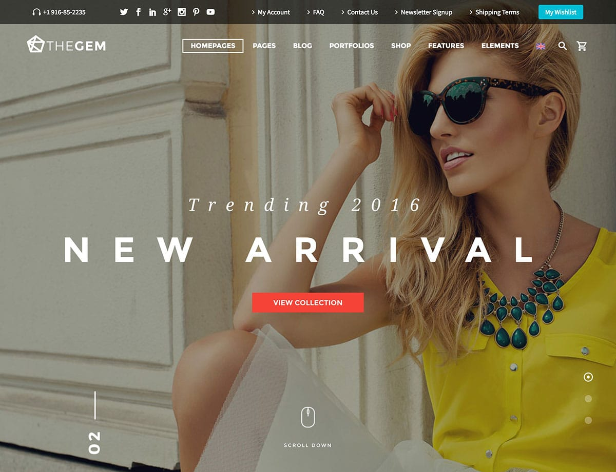 TheGem-3 - 46+ Top Best WordPress Themes For Ecommerce [year]