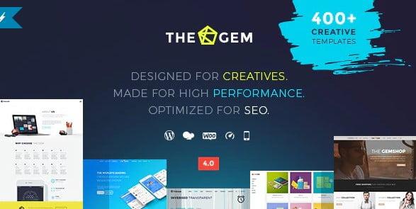 TheGem-5 - 41+ Awesome Logo Designer WordPress Themes [year]