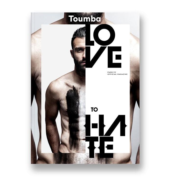 Toumba-Magazine - 63+ Surprising Typography In Magazine & Book Designs [year]