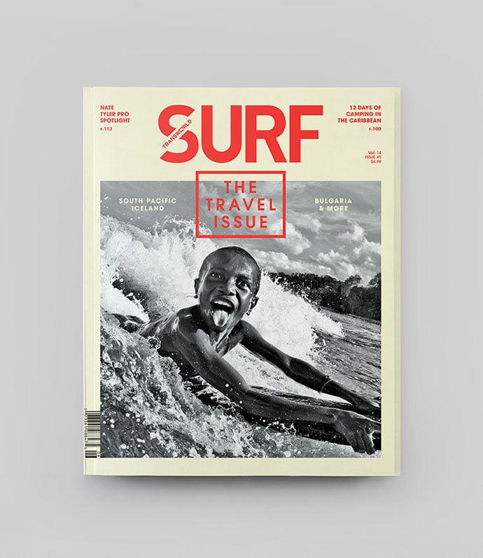 Transworld-Surf-Redesign - 63+ Surprising Typography In Magazine & Book Designs [year]