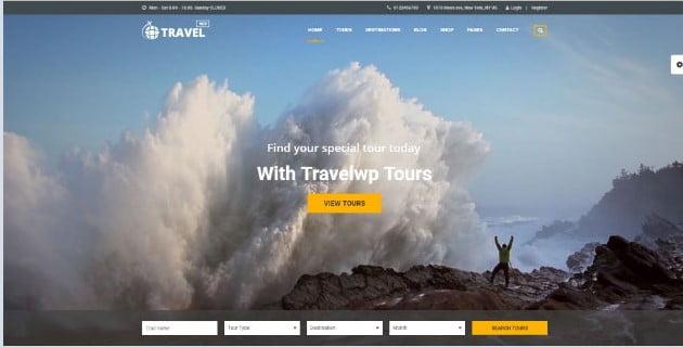 Travel-WP - 36+ Nice Tour & Travel Business WordPress Themes [year]