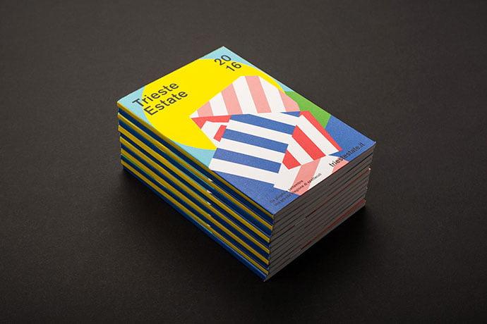 Trieste-Estate-2016 - 63+ Surprising Typography In Magazine & Book Designs [year]