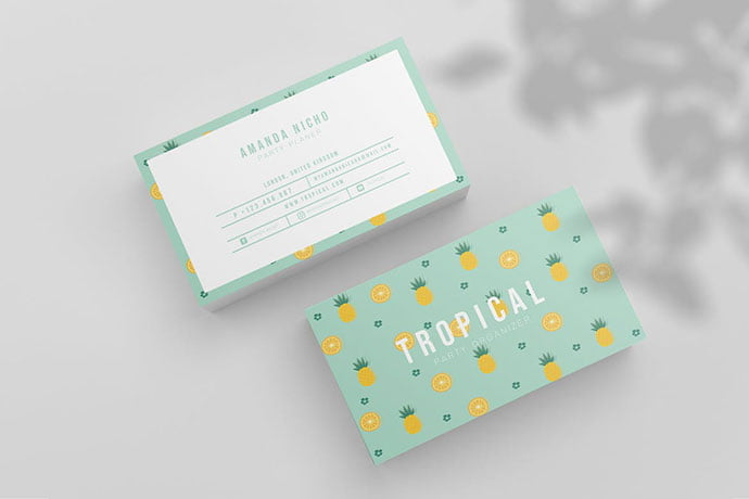 Tropical-Business-Card