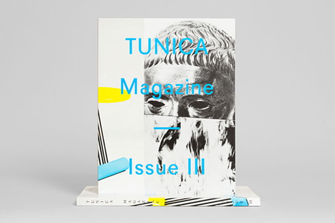 Tunica-Magazine-Issue-III - 63+ Surprising Typography In Magazine & Book Designs [year]