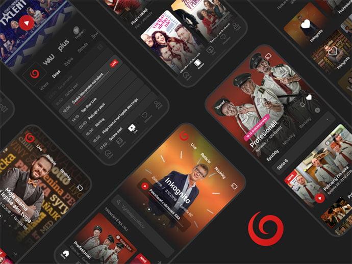 Tv-Joj-App - 63+ Amazing Film & TV App UI Design Sample [year]