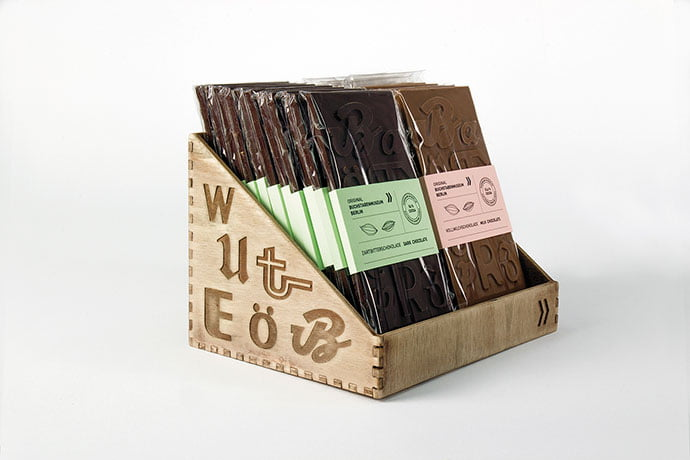 Typographic-Chocolate - 38+ Awesome Free Packaging Designs that Automatically Sell [year]