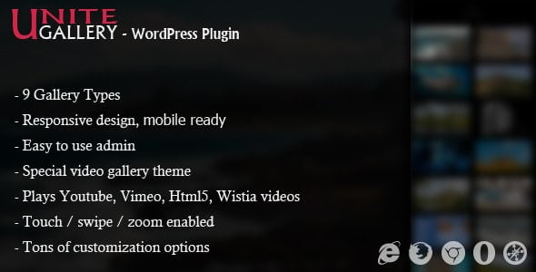 Unite-Gallery - 28+ Awesome Gallery Plugins For WordPress [year]