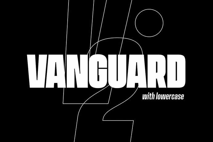 Vanguard-CF - 56+ Awesome Free Movie Poster Title Extra Bold Fonts [year]