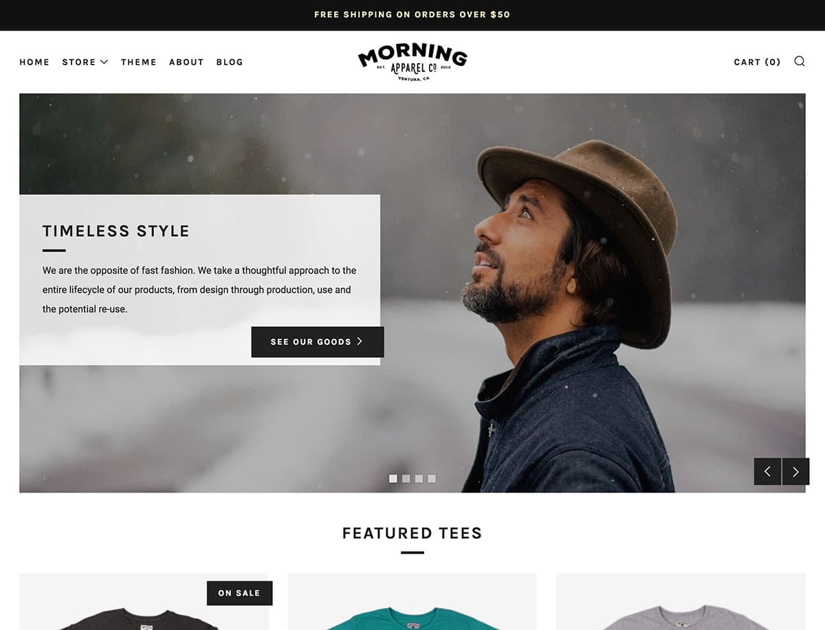 Venue - 41+ Awesome Shopify Themes For Your Business [year]