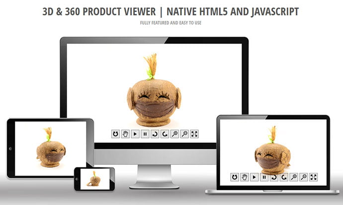 View360 - 26+ Amazing 360 Degree Image & Video Javascript Plugins [year]