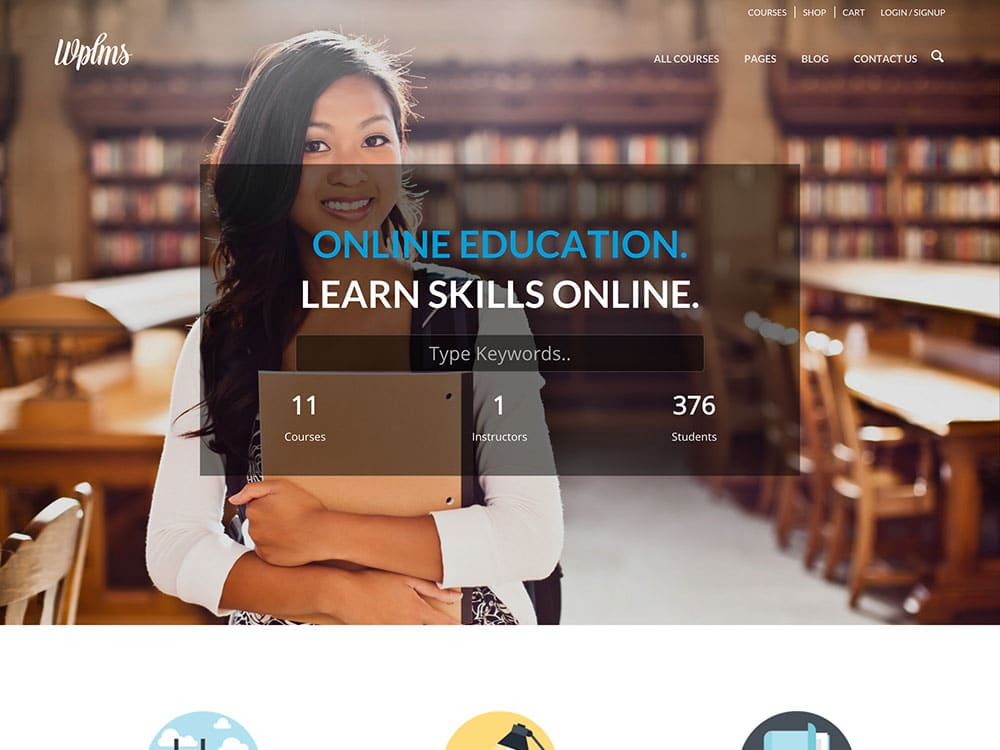 WPLMS - 51+ Top Best WordPress Themes For Education [year]