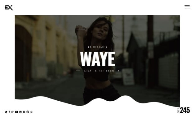 Waye - 31+ Awesome Video Background Coming Soon Templates [year]