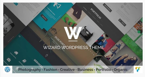 Wizard - 36+ Amazing Tumblr Style WordPress Themes For Developer [year]