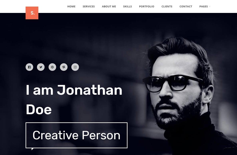 WordPress-Resume-Themes - 34+ Marvelous WordPress Resume Themes [year]