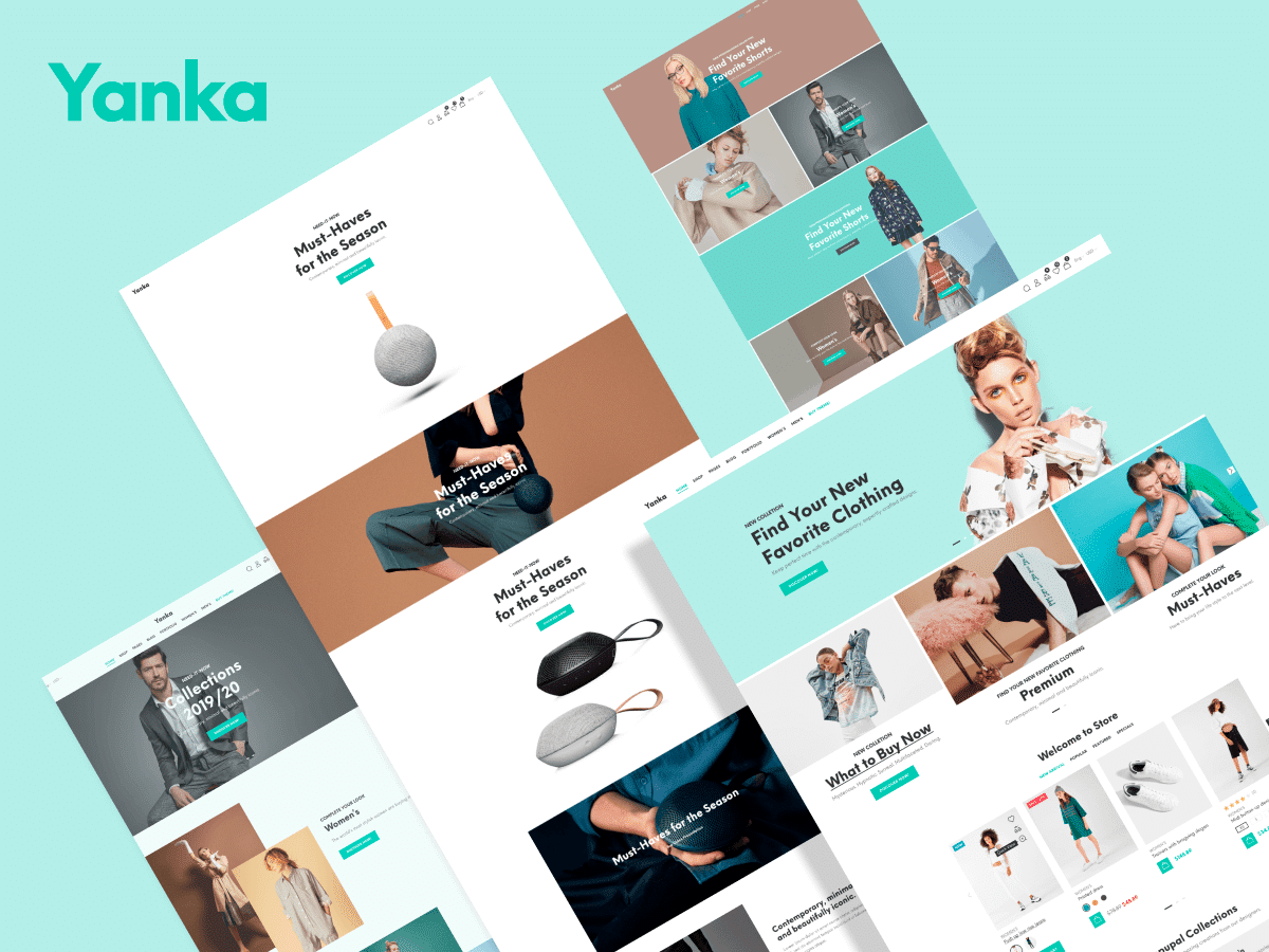 Yanka - 41+ Awesome Shopify Themes For Your Business [year]
