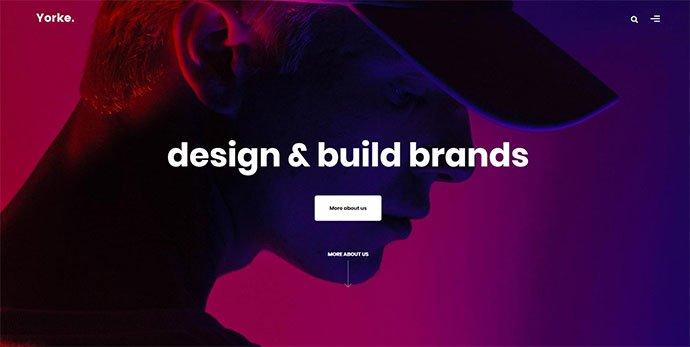 Yorke - 36+ Wonderful Gradients Designs WordPress Theme [year]