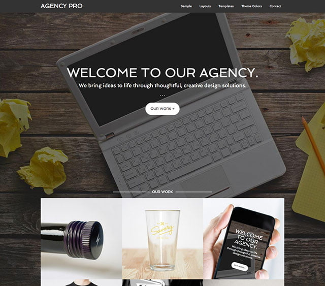 Agency-Pro - 36+ Top Quality WordPress Themes For Business [year]