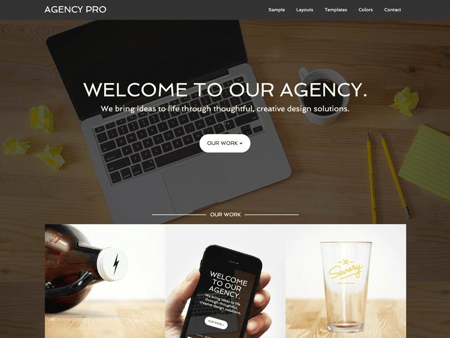 Agency-Pro - 40+ Awesome WordPress Themes For Creative Agency [year]