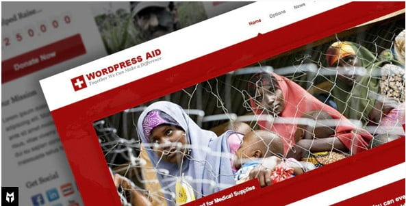 Aid - 36+ Amazing WordPress Themes For Non-Profit, Charity [year]