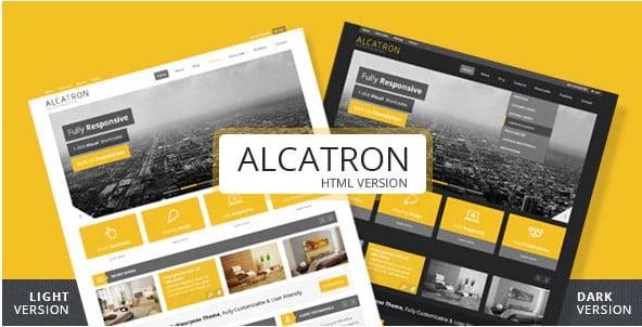 Alcatron - 36+ Amazing Electricians WordPress Themes [year]