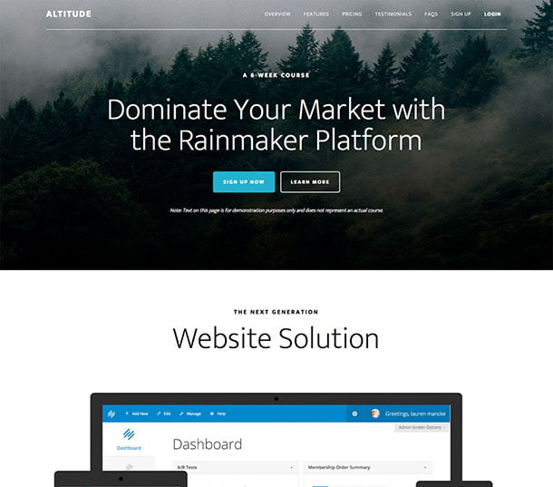 Altitude-Pro - 41+ Amazing WordPress Parallax Themes For You [year]