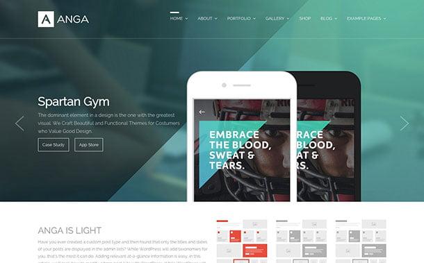 Anga - 35+ Nice WordPress Themes For Multipurpose [year]