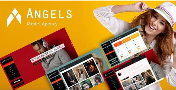 Angel-2 - 36+ Nice WordPress Model Agency Themes [year]