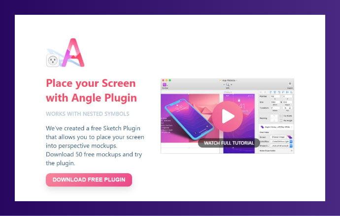 Angle - 61+ Free Useful Sketch Plugins & Add Ons [year]