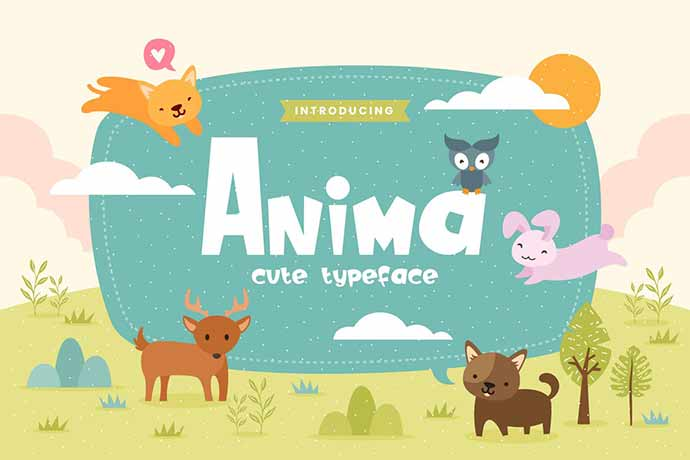 Anima - 31+ Amazing Game Title Fonts For Developer [year]