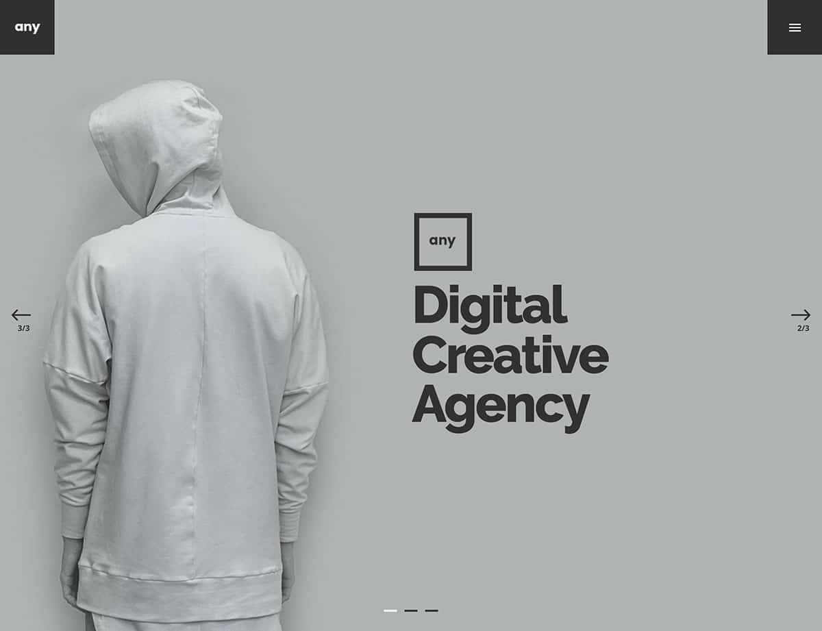 Any - 40+ Awesome WordPress Themes For Creative Agency [year]