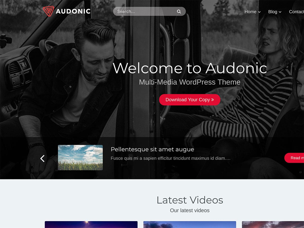 Audonic - 36+ Awesome WordPress Themes For Podcast [year]