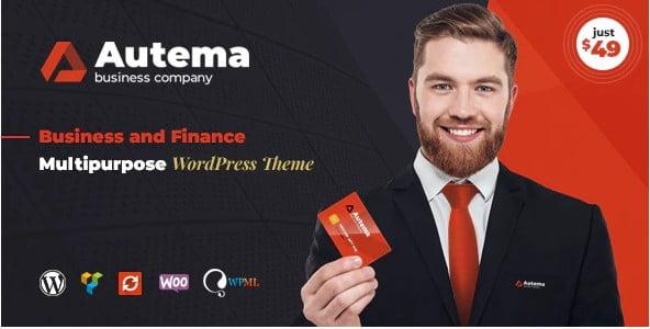 Autema - 36+ Amazing WordPress Insurance Themes [year]