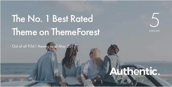 Authentic - 30+ Top Quality WordPress Themes For Viral [year]