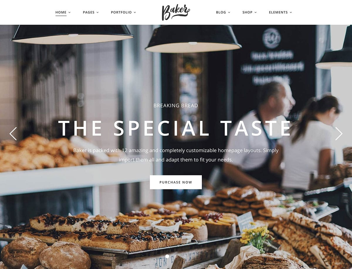 Baker-2 - 30+ Amazing Bakeries WordPress Themes [year]