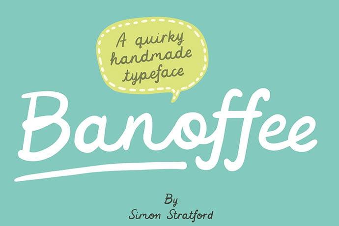 Banoffee-Font