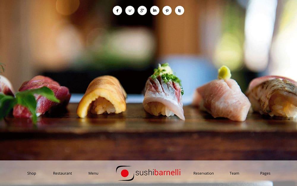 Barnelli - 50+ Nice WordPress Themes For Restaurant [year]