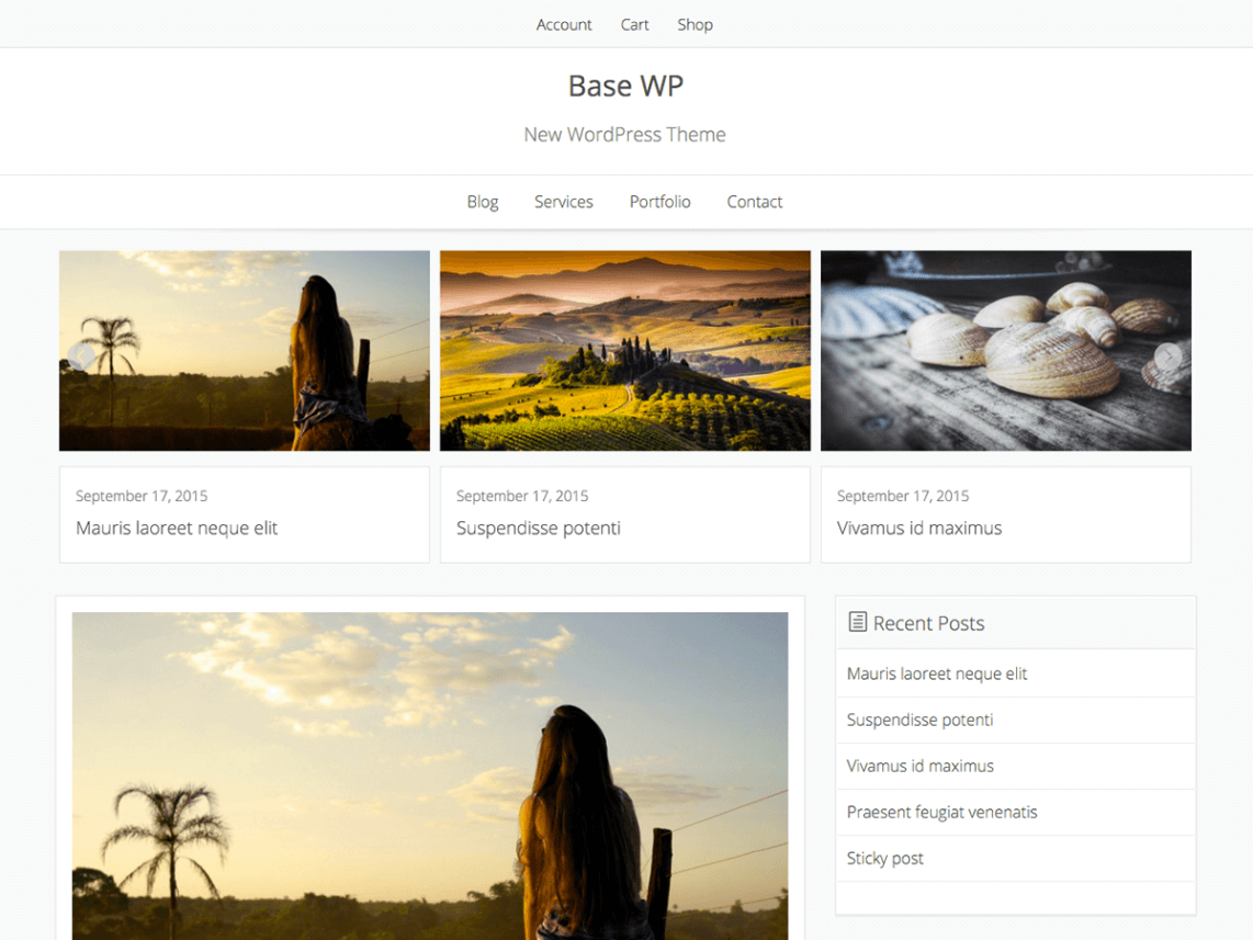 Base-WP - 51+ Awesome Free WordPress Themes For Ecommerce [year]