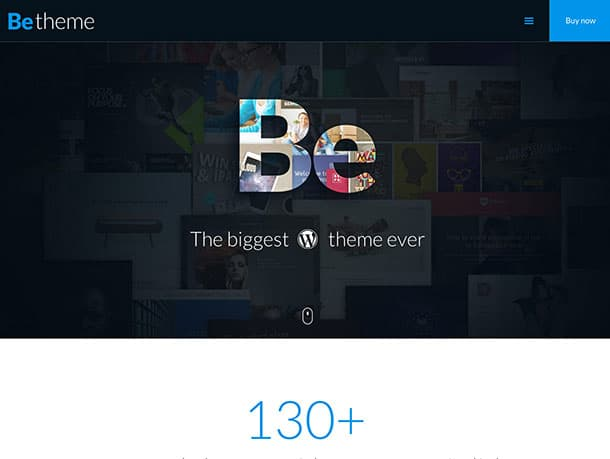 BeTheme-2 - 36+ Awesome WordPress Marketing Themes [year]