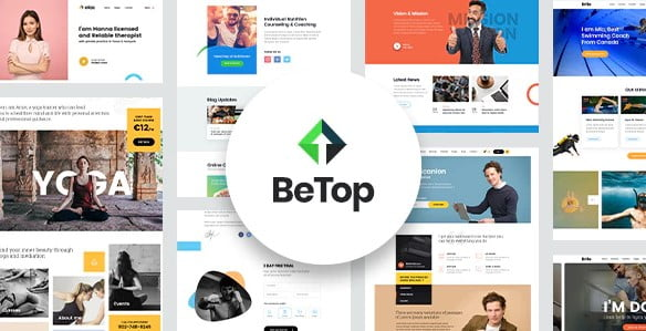 BeTop - 36+ Nice WordPress Themes For Coaching [year]