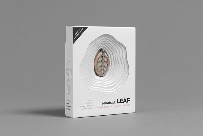 Bellabeat-Leaf-Packaging - 35+ Awesome Die Cut Packaging Designs Template [year]