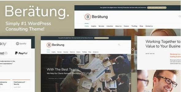 Beratung - 36+ Amazing WordPress Insurance Themes [year]